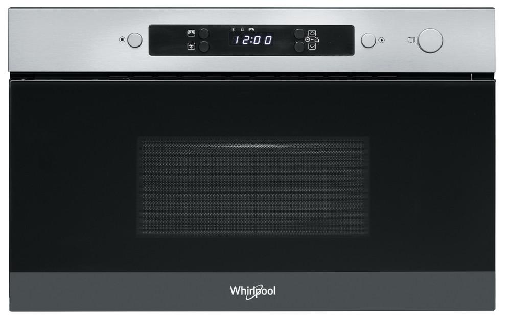 Whirlpool Mikroaaltouuni Kalusteisiin sijoitettava AMW 4900/IX Inox Elektroninen 22 Vain mikroaaltotoiminnot 750 Frontal