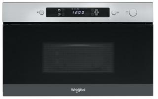 Kalusteisiin sijoitettava Whirlpool mikroaaltouuni: Ruostumaton - AMW 4900/IX