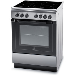 Indesit Cuisinière I6VMH2A(X)/NL Inox Non Perspective