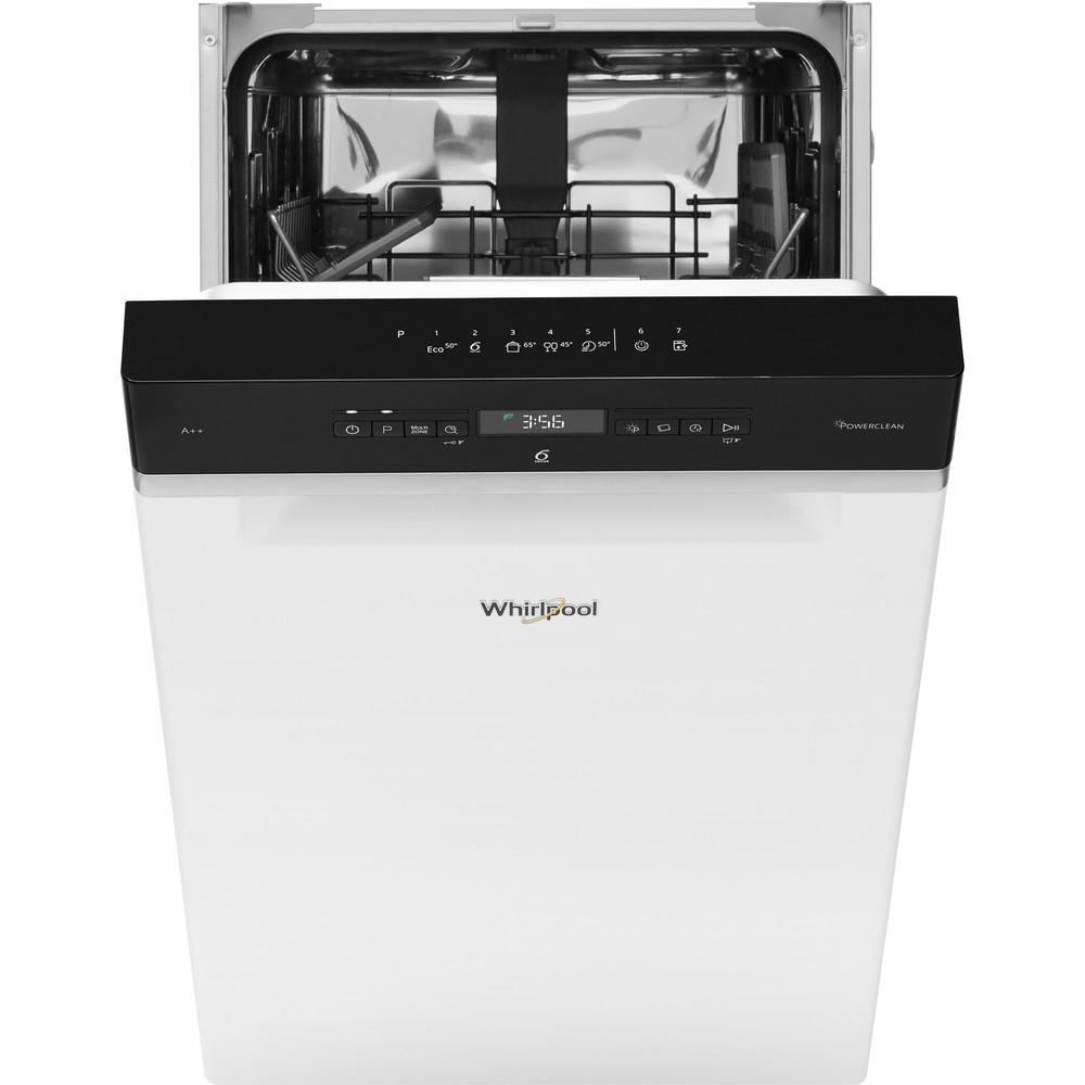 Whirlpool oppvaskmaskin: farge hvit, 45 cm - WSUO 3T223 P