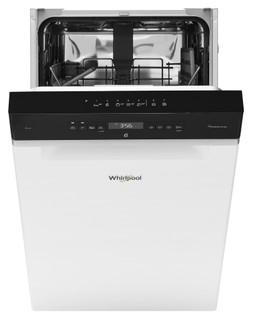 Whirlpool-opvaskemaskine: hvid farve, slank model - WSUO 3T223 P