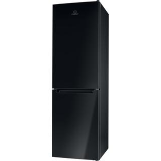 Indesit Kombinovaná chladnička s mrazničkou Voľne stojace LI8 SN2E K Čierna 2 doors Perspective