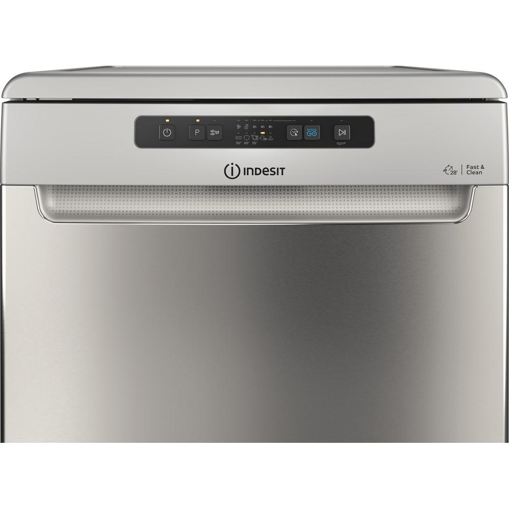 Indesit Mašina za pranje posuđa Samostojeći DFC 2B+19 AC X Samostojeći F Control panel