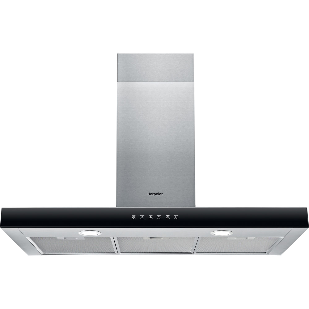 Hotpoint HOOD Built-in PHBS9.8FLTIX Inox Wall-mounted Electronic Frontal