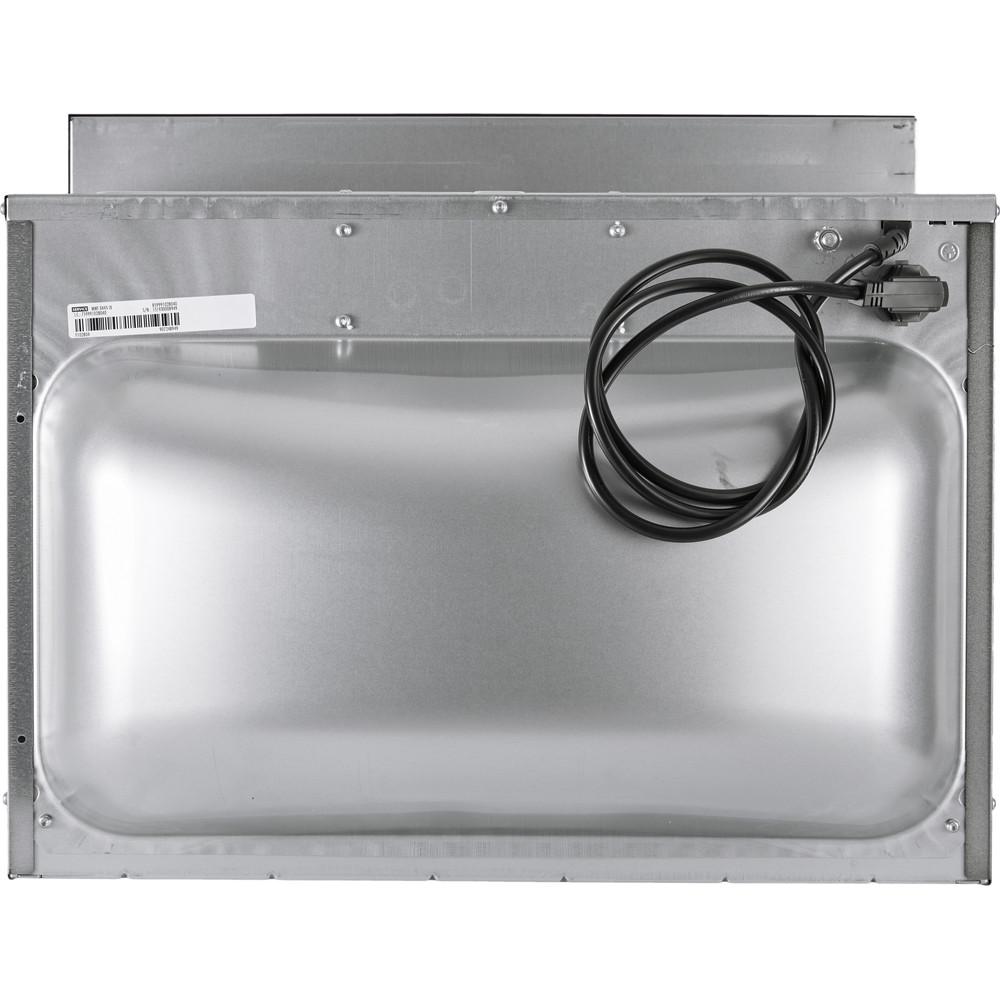 Indesit Microgolfoven Inbouw MWI 3445 IX Inox Elektronisch 40 Combimicrogolfoven 900 Back / Lateral