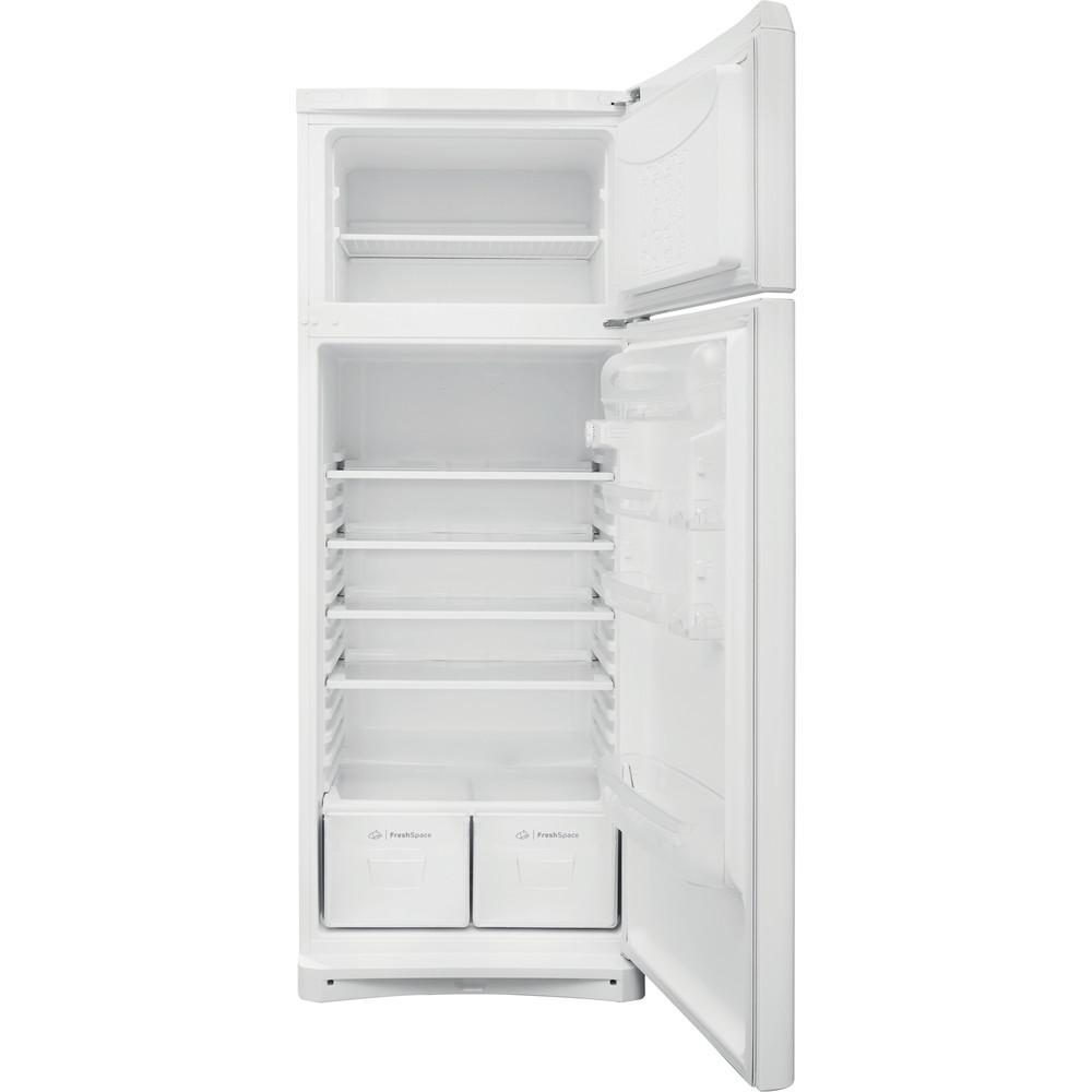 Indesit Combinación de frigorífico / congelador Libre instalación TAA 5 1 Blanco 2 doors Frontal open