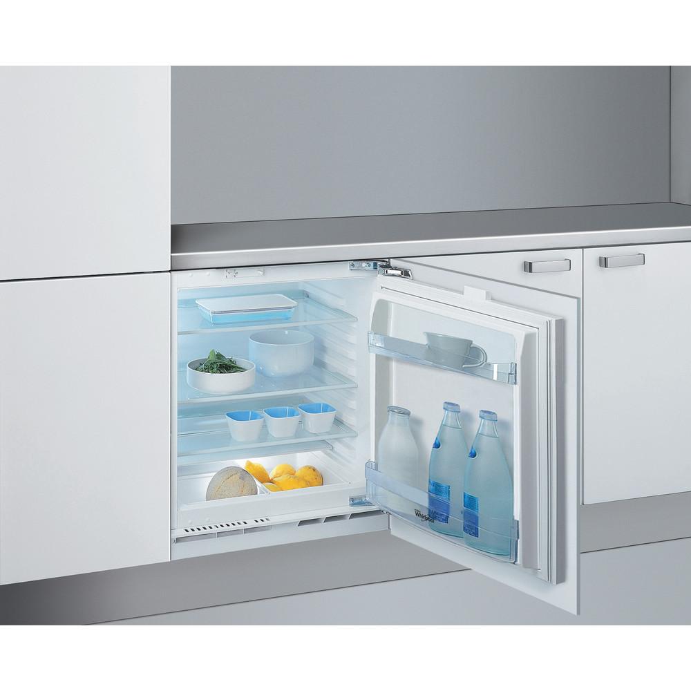 Холодильник Whirlpool вбудований: білий колір - ARG 585/A+