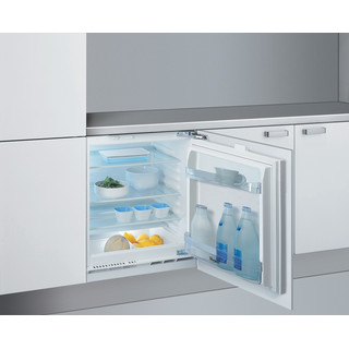 Whirlpool Šaldytuvas Įmontuojamas ARG 585 Balta Perspective open