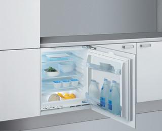 Whirlpool vgradni hladilnik: Bela barva - ARG 585
