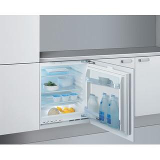 Whirlpool Ledusskapis Iebūvējams ARG 585 Balta Perspective open