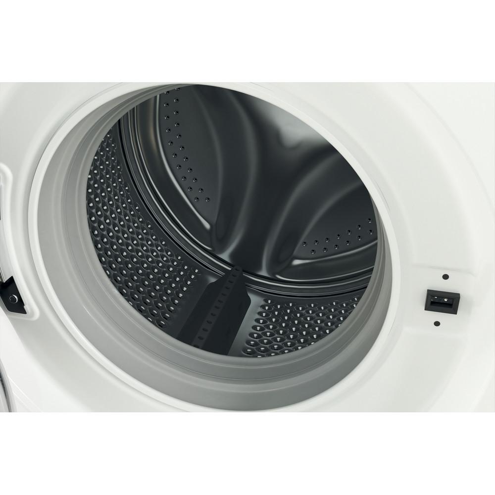 Indesit Lave-linge Pose-libre MTWE 81683 WK FR Blanc Lave-linge frontal A+++ Drum