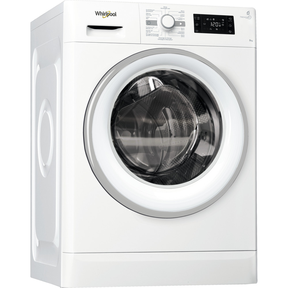 Whirlpool FWGBE81496WSE Wasmachine - 8 kg - 1400 toeren