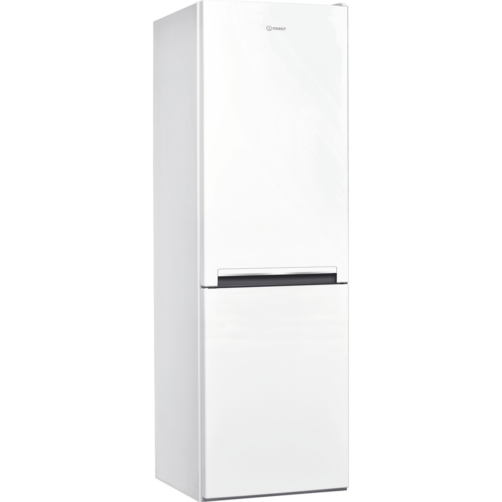 Indesit Fridge Freezer Free-standing LI8 S1E W UK Global white 2 doors Perspective