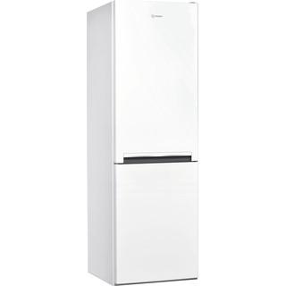 Indesit Fridge-Freezer Combination Free-standing LI8 S1E W UK Global white 2 doors Perspective