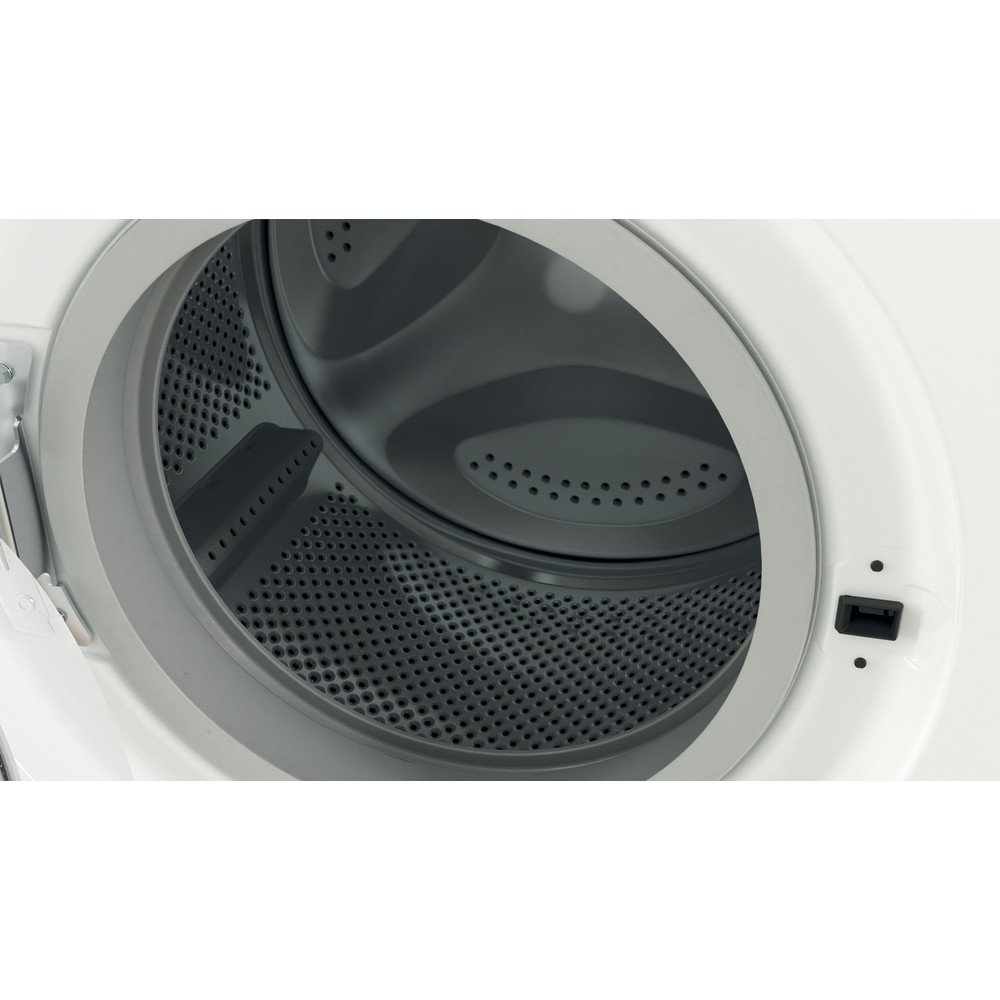 Indesit Washing machine Free-standing IWC 81251 W UK N White Front loader F Drum