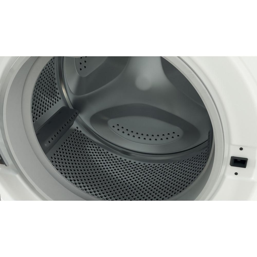Indesit Wasmachine Vrijstaand BWE 81683X WK EU N Wit Voorlader D Drum
