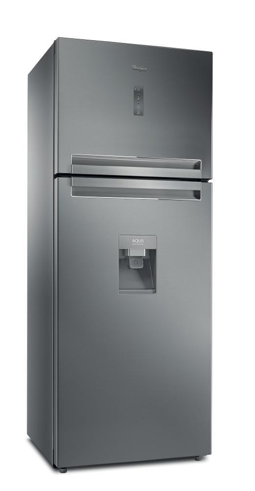 Whirlpool Комбиниран хладилник с камера Свободностоящи T TNF 8211 OX AQUA 1 Оптичен инокс 2 врати Perspective